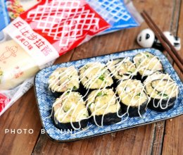 土豆沙拉紫菜卷#一起土豆沙拉吧#的做法