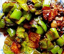 尖椒炒肉片郫县豆瓣的做法