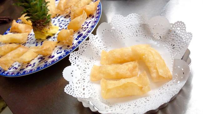 菠萝派 凤梨派 酥脆酸甜口 超薄的皮的做法