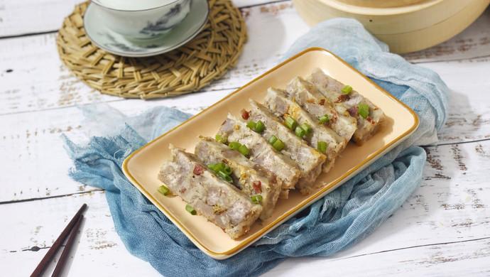零失败的腊肠虾米芋头糕