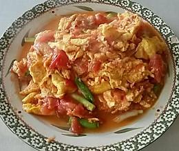 超级下饭的番茄炒蛋.西红柿炒鸡蛋的做法