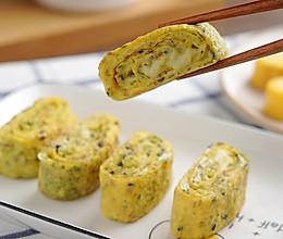 奶酪海苔厚蛋烧【孔老师教做菜】的做法
