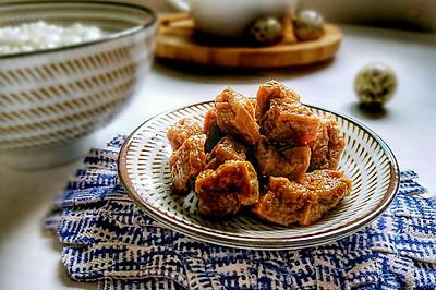 就是爱吃甜--无锡卤汁豆腐干