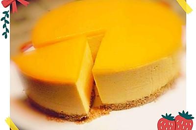 免烤--芒果慕斯蛋糕