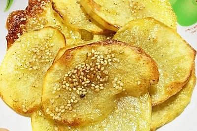 你无法拒绝的孜然烤土豆片(烤箱版)可做减肥零食