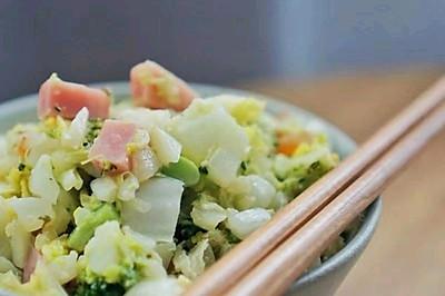 无米蛋炒饭,减脂营养缺一不可