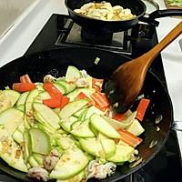鲜虾瓜片的做法图解6