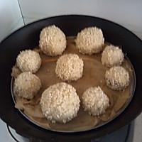 蒸地瓜丸子 豆沙馅的做法图解4