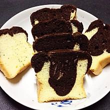 漂亮的大理石蛋糕