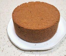 零失败❗️超详细的六寸巧克力戚风蛋糕的做法