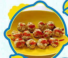 豆腐胡萝卜虾丸 宝宝食谱的做法