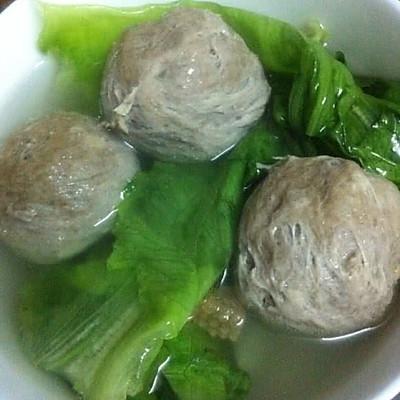 电饭煲煮潮州镇记牛肉丸清汤