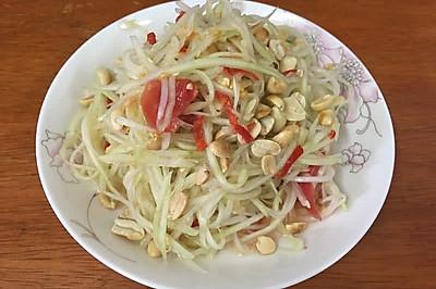 老挝舂青木瓜丝