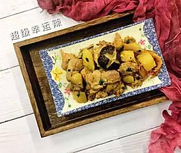 香菇鸡肉炖土豆的做法