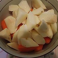 山药胡萝卜粥的做法图解2