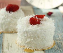 详细步骤 雪白椰丝蛋糕的做法