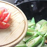 #一人一道拿手菜#番茄丝瓜的做法图解8