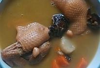 老母鸡汤之~香菇山药枸杞花生红枣美颜系列的做法