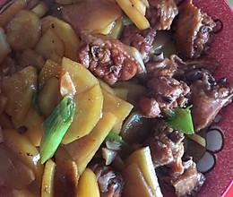 鸡翅土豆的做法