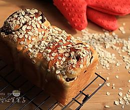 【豆浆麦片纯素吐司】——给茹素老人的面包的做法