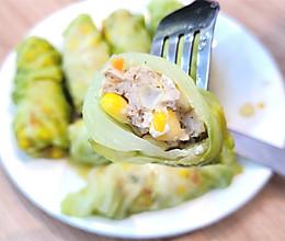 金帝集成灶美食推荐之鸡胸肉时蔬卷的做法