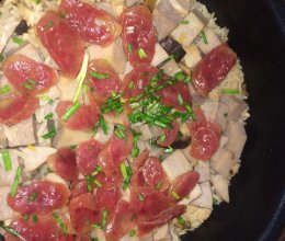立秋—芋头腊味饭的做法