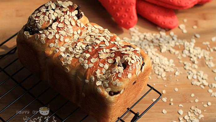 【豆浆麦片纯素吐司】——给茹素老人的面包