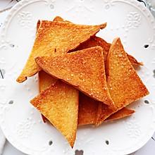 #换着花样吃早餐#蜂蜜黄油烤吐司