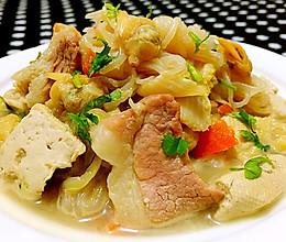 乱炖大白菜的做法