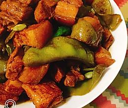 扁豆烧肉——贴秋膘的做法