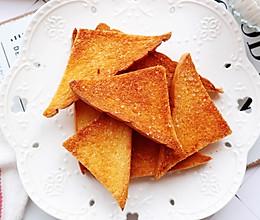 #换着花样吃早餐#蜂蜜黄油烤吐司的做法