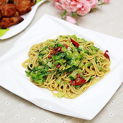 素炒意粉:西餐也合中国胃