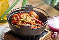 小羽私厨之干锅藕片的做法