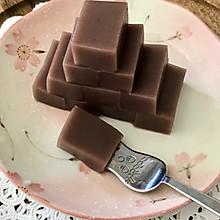 三四步即可食用的美食 老北京小吃~小豆凉糕