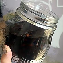 醋泡黑豆(五色黑入肾、五味酸养肝)