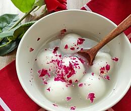 当情人节遇上元宵节-玫瑰蜂蜜汤圆的做法