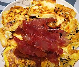 虾皮鸡蛋煎豆腐的做法