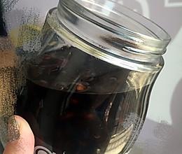 醋泡黑豆(五色黑入肾、五味酸养肝)的做法