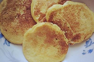 宝宝辅食之香蕉鸡蛋饼