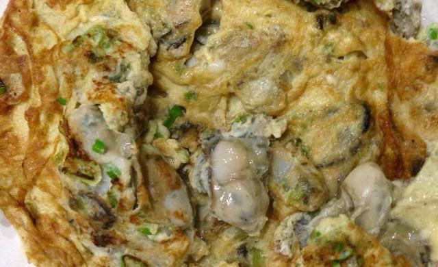 日式海蛎子厚蛋燒
