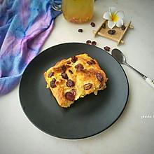 蔓越莓面包布丁~快手早餐