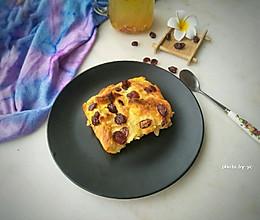 蔓越莓面包布丁~快手早餐的做法