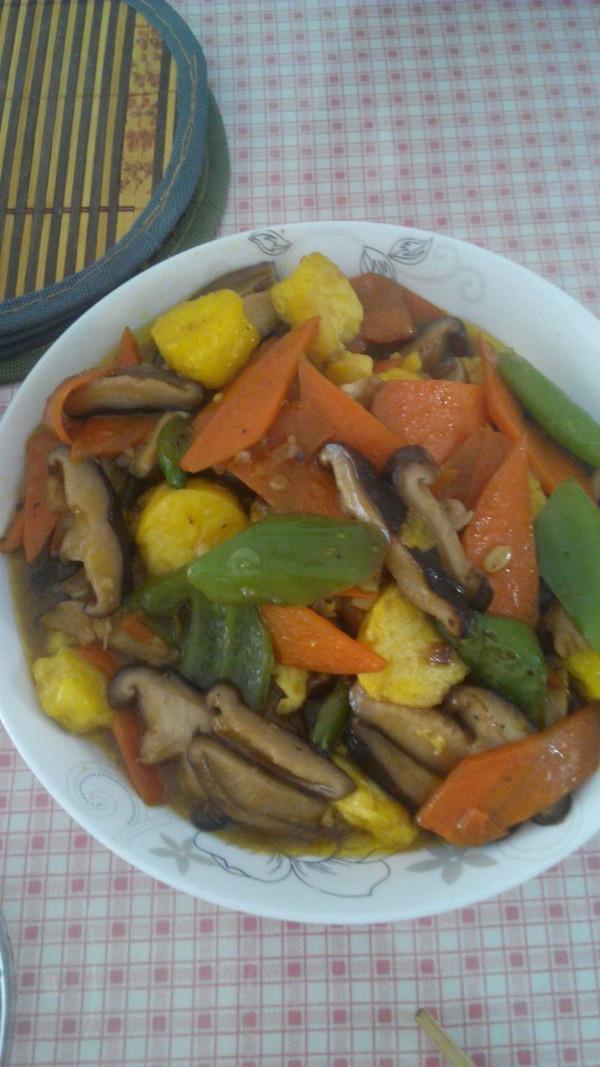 香菇日本豆腐的做法