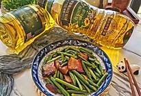 #新春美味菜肴#蒜苔炒腊肉的做法
