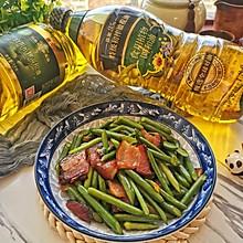 #新春美味菜肴#蒜苔炒腊肉