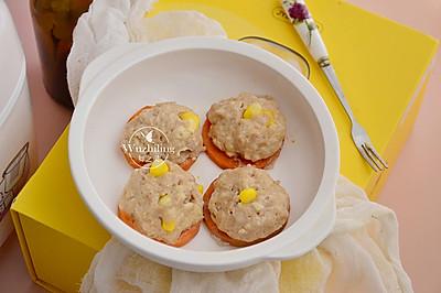 豆腐玉米蒸丸子 #花10分钟,做一道菜#
