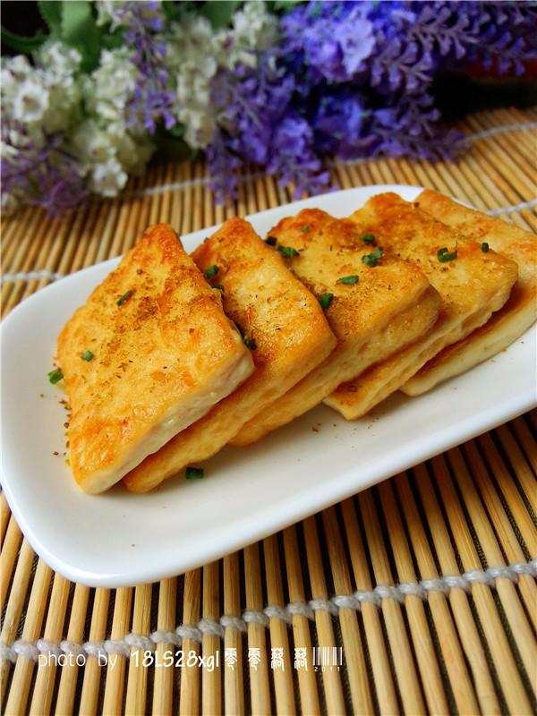 球赛必备小吃:孜然豆腐的做法