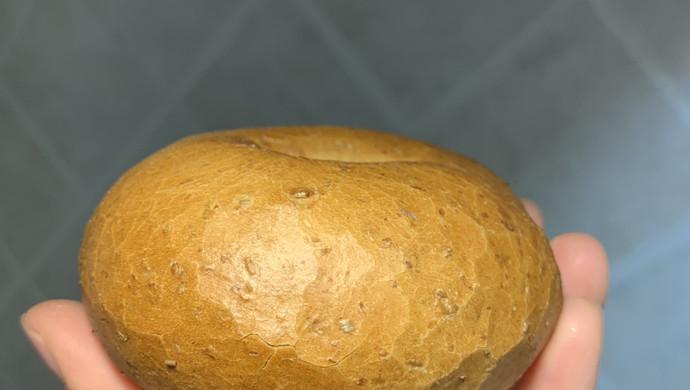 全麦钻石裂纹贝果
