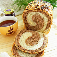面包机版双色土司#东菱魔法云面包机#的做法图解17