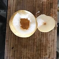 冰糖红枣枸杞炖雪梨的做法图解2